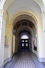 L1004782 (Inspired Snob) Tags: budapest andrassy utca courtyard facade detail doorway streetlife