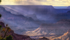 late afternoon shower in the canyon (austindca) Tags: grandcanyon