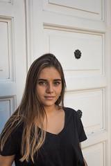 Marta (Javipe foto) Tags: chica girl sesion fotos coruña acoruña atardecer sunset arbol naturaleza photography galicia spain españa beautiful eyes green portrait