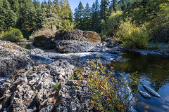 Molalla River in the fall (BLMOregon) Tags: blm bureauoflandmanagement molalla river oregon recreation autumn fall basalt clackamas county