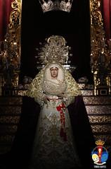 #RosarioSanPablo | Galería: Besamanos de Ntra. Señora del Rosario Doloroso