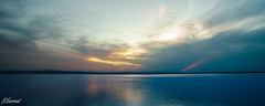 Atardecer (Francisco Chornet) Tags: atardecer ocaso puestadesol paisaje landscape agua albufera valencia comunidadvalenciana elpalmar nubes minolta1735f28 sony a7 sonystas