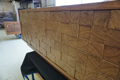 End Grain Cabinet Detail 2