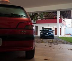 DSC_0575 (marcelodkk) Tags: peugeot 306 s16 maceio alagoas brasil brazil cars car golf tsi volkswagen vw azul lucifer vermelho