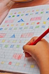 giorno 12 (21-09-18) (ilgladiatore83) Tags: school scuola homework compiti photoproject fotoprogetto unafotoalgiorno aphotoaday texture cornicette