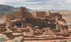 Wupatki Pueblo Ruins (Ron Wolf) Tags: anthropology archaeology nationalpark nativeamerican puebloan sinagua wupatkinationalmonument architecture pueblo ruins stonework structure wall arizona