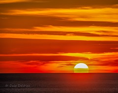 Just your average Lake Michigan sunset . . . (Dr. Farnsworth) Tags: sunset sun puremichigan national lakeshore clouds sleepingbear mi michigan fall september2018