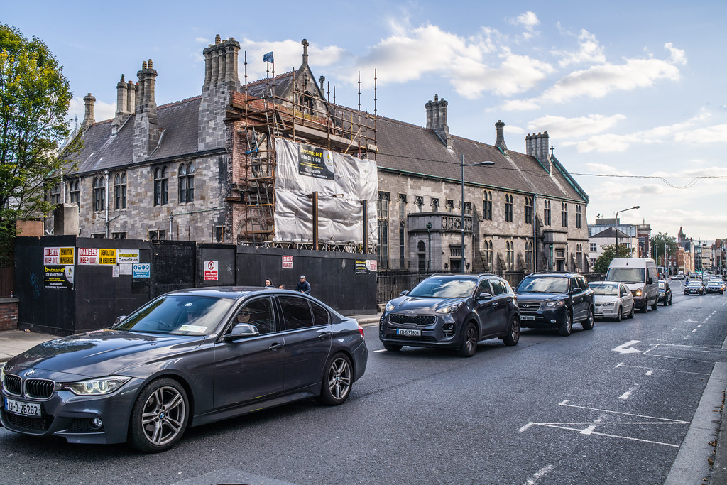 THE MOY PUB IS GONE [PART OF THE NEXT DOOR BUILDING REMAINS]-144888