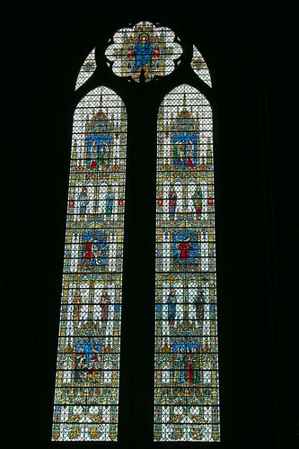 Liverpool Cathedral Stained Glass Window