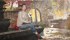 945 (Tomomi alpaca Homewood) Tags: hicafe autumn garden photogenicplace meeting location cafe healing