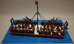 Gun barge no. 1 (Beorthan) Tags: bobs corrington vessel