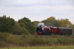 The Duchess heading to the Seaside (Colin Weaver) Tags: lms 462 pacific sutherland duchess heritage steam railway railroad loco locotive 46233 6233