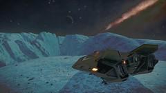 SIFI-WJ-R-D4-81-BC-13a (CMDR Snarkk) Tags: elite dangerous planet ice