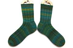 bmfa mppdx socks 01 (thing4string) Tags: knit knitting handknit handknitted socks handspun handspinning wool superwash merino nylon bluemoonfiberarts bmfa fingering 3ply