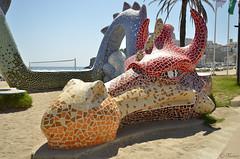 Temible [Explore 2018.10.22] (Txemari Roncero) Tags: peñiscola castellón espña españa spain urbana dragon parque playa mar beach nikon nikond7000 txemarironcero