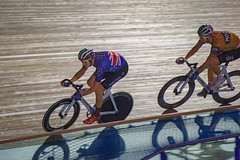 Madison chase (alasdair massie) Tags: track velodrome cyclist london6day london race madison cycling olympic