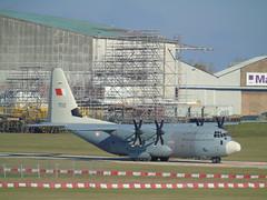 Royal Bahrain AF Lockheed C-130-J Hercules C.5 702 at CBG (robertetienne) Tags: royalbahrainairforce lockheed c130 hercules cambridgeairport 702 aircraft airplanes propellers military aviation