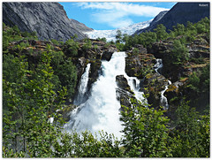 Stryn - Briksdalsbreen (.Robert. Photography) Tags: briksdalsbreen glaciar jostedal stryn sogn og fjordane vestlandet noruega norway norge robert