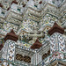 Close Up View of Wat Arun Temple in Bangkok