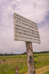 Albee Marker (www78) Tags: manassas national battlefield park virginia second bull run american civil war albee marker