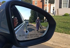 Objects in mirror (State Visits) Tags: amish usa