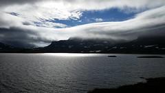 Haukeliseter (magneroed) Tags: haukeliseter mountains fjell lake vatn water snow snø sky himmel clouds skyer norway landscape