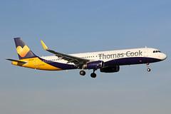 Thomas Cook Airlines Airbus A321-231(WL) G-TCVC BHX 25/09/18 (bhx_flights) Tags: birmingham birminghamairport bhx airport landing thomascook egbb airbus airbus321 airbusa321