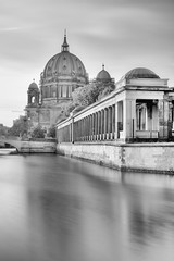 Berliner Dom (Andy J Newman) Tags: berlin germany de berliner dom church cathedral black white monochrome nikon d500 silverefex long exposure vulture labs