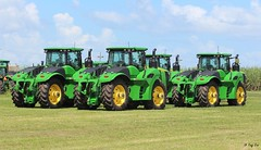 4 New John Deere 9420Rs (Mountvic Holsteins) Tags: 4 new john deere 9420r south florida agriculture everglades equipment group belle glade nothing runs like