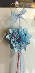 Kusudama 🌸🌸💞😍 (ArtesaNá) Tags: kusudama artesanatoempapel decoraçãoorigami dobradura origami flordeorigami sakuraorigami