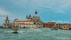 Entrance To The Grand Canal (orgazmo) Tags: italy italia landscapes olympus omd em1mk2 mzuiko12100mmf4ispro micro43s m43s outdoors venice venezia grandcanal boats waterscapes water cityscapes city cityviews