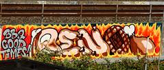 graffiti in Amsterdam (wojofoto) Tags: westerpark amsterdam graffiti streetart nederland netherland holland wojofoto wolfgangjosten benoi benoit