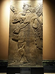 P8272184 (simonrwilkinson) Tags: cambridge cambridgeshire fitzwilliammuseum museum limestone relief assyrian ashurnasirpal iraq
