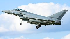 RAF Typhoon (lee adcock) Tags: exercisecobrawarrior2018 raf tamron150600g2 coningsby nikond7200 runway25 typhoon