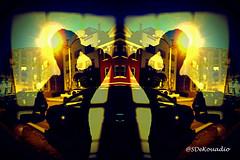 Midnight Shadows (Stephenie DeKouadio) Tags: canon art artwork artistic hypnotique night darkandlight light lights shadow shadows washingtondc washington dc dcurban woman selfportrait