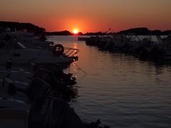 Porto Cesareo (_Veronika95_) Tags: autumn landscape barche tramonto sunset mare sea italy salento portocesareo