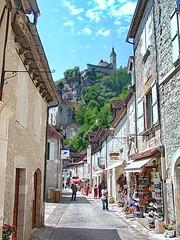 Rocamadour - France (meren34) Tags: rocamadour france history holy church pligrim street