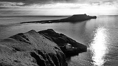 The Worm's Head, Rhossili Bay, The Gower (mpb_17) Tags: