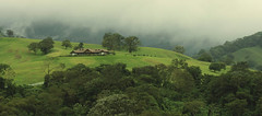(eflon) Tags: arenal costa rica cr pan stitch house hills rainforest green landscape rolling central foggy cloudforest