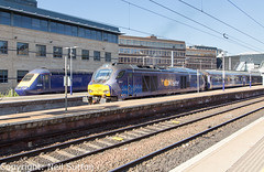 DRS 68007, ScotRail 43135 - Haymarket (Neil Sutton Photography) Tags: 68007 beaconrailleasing canon class68 drs drslivery dieselelectric diesellocomotive edinburgh eurolight fifecircle hst haymarket highspeedtrain railway scotrail scotland scotlandsrailway train uklight loco locomotive