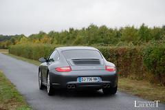20181007 - Porsche 911 (997-2) Carrera S 385cv - N(2232) - CARS AND COFFEE CENTRE - Chateau de Longue Plaine (laurent lhermet) Tags: carreras carrera chateaudelongueplaine domainedelongueplaine nikkor18105 nikond5500 porsche911carrera porsche porsche911 nikon porsche9972