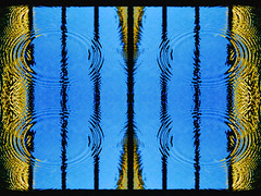 Quartered (tisatruett) Tags: abstract waterdrops circles