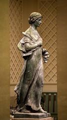 Straight Through (dayman1776) Tags: sony a6000 art museum bronze sculpture statue skulptur sculptor woman girl female figurative classical national gallery washington dc