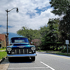 Newberry, South Carolina, USA (pom'.) Tags: panasonicdmctz101 july 2018 america northamerica usa unitedstatesofamerica southcarolina car vintagecar chevrolet chevy 25 newberry newberrycounty columbia 100 200