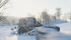 10-12-2018_12-39-15_AM (Brokenvegetable) Tags: forza horizon 4 turn10studios microsoft playground games videogame photomode photography volvo iron knight semi truck racing