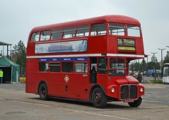 Preserved ALD 955B (tubemad) Tags: park royal aec routemaster ald955b rm1955 route 36 london central preserved cobham spring rally