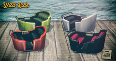 crate's Wild Ride for FaMESHeD X (crate.) Tags: decor animations vintage reclaimedcarnivalcart adult set 3somemmf 3someffm seating crate
