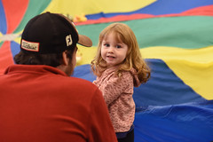 Toddler Parachute Play, WR 10.16.18 (slcl events) Tags: toddlers toddler toddlerprogram libraryprogram library slcl stlouiscountylibrary weberroadbranch weberroad childrensprograms kids children parachuteplay toddlerparachuteplay parachute