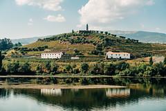 Reflection (Poul_Werner) Tags: douroriver portugal sandeman vitusrejser 53mm ferie rejse travel pesodarégua vilareal pt