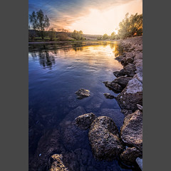 _IMG_1242-pimp2_cut (daniel kuhne) Tags: weserradweg outdoor nature hdr sunset niedersachsen beautiful water